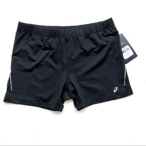 ASICS Black Running Shorts Hot Pants Size L